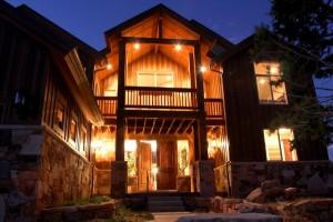 764 home at night