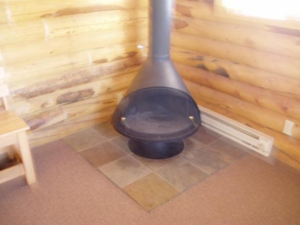 Cabin Suite Fireplace