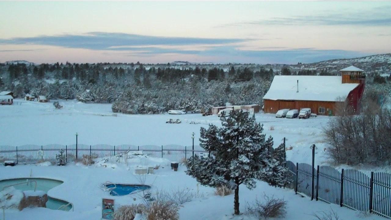 Winter at Zion Ponderosa