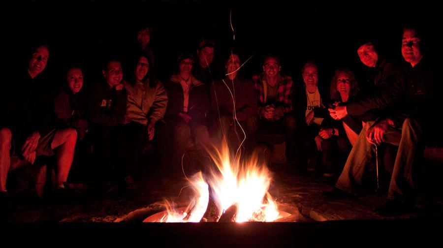 Evening Campfires, Zion Ponderosa