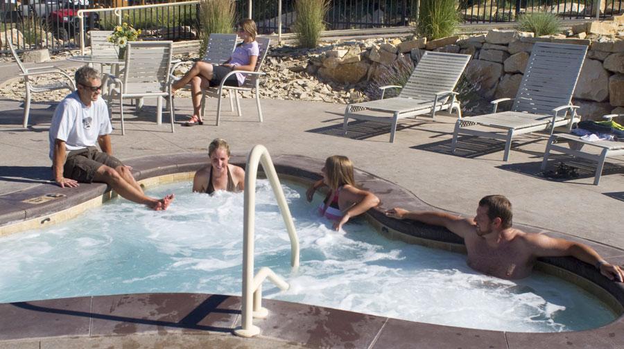 Relaxing at Zion Ponderosa Ranch Resort