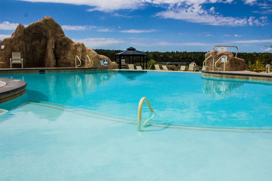 Zion Ponderosa Pool View