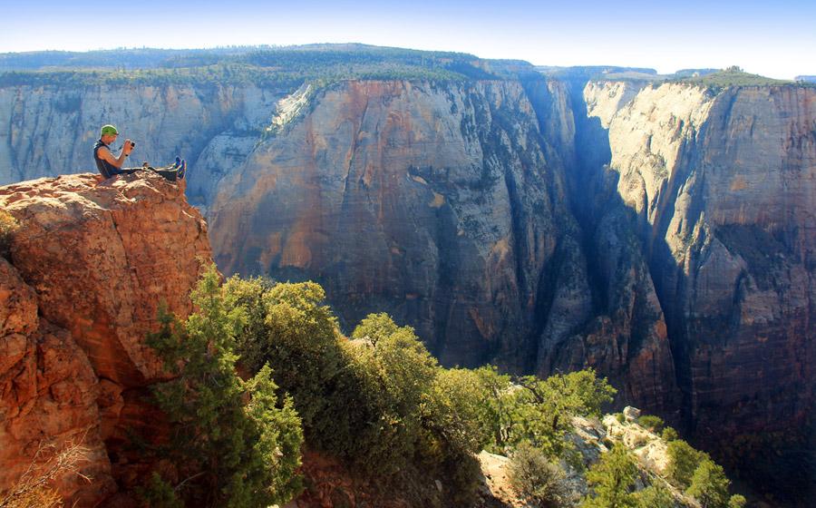 Observation Point- Zion National Park