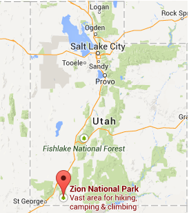 Best Ways To Get To Zion National Park Zion Ponderosa - Map of zion national park