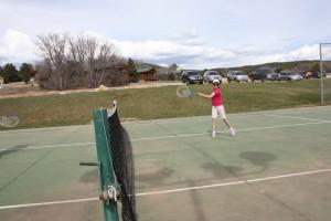 Tennis courts Zion Ponderosa