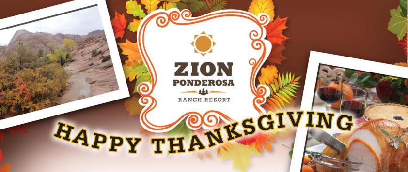 Thanksgiving Feast Zion Ponderosa