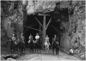 Zion Mount Carmel tunnel