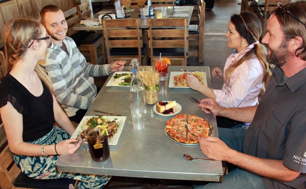 Dining at Zion Ponderosa