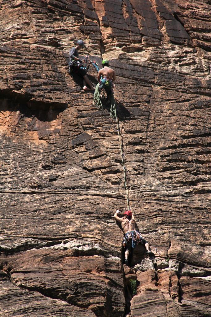 Rock Climbing ZIon