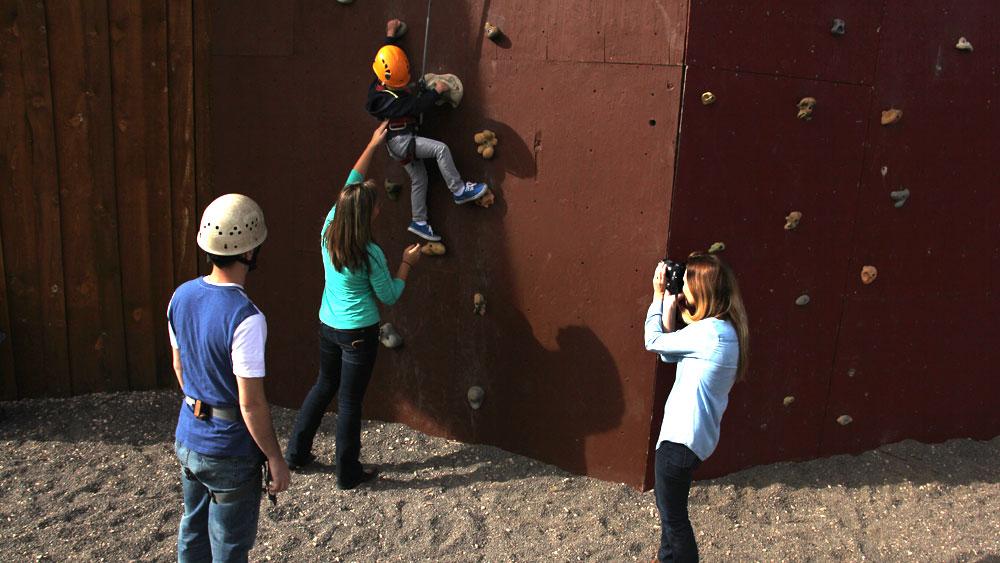 climbing wall near zion national park