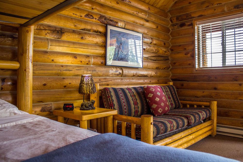 Cowboy Cabin lodging zion ponderosa