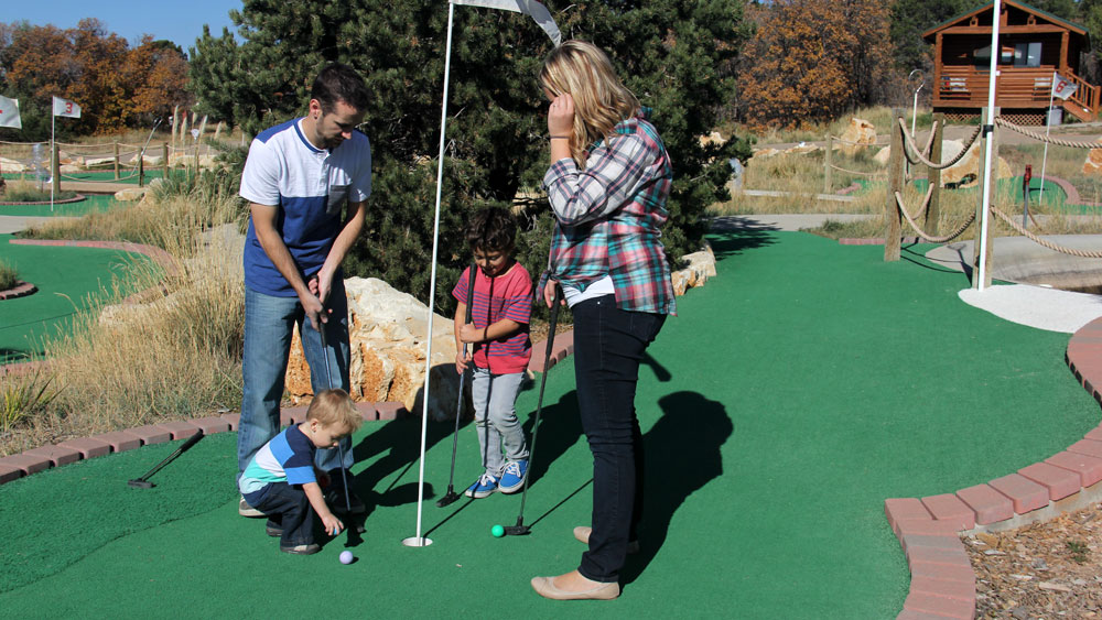 Miniature Golf - Mini Golf Course Near Zion | Zion Ponderosa