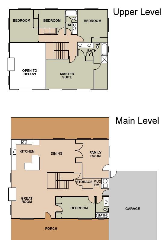 Ponderosa Ranch House Floor Plan Meze Blog