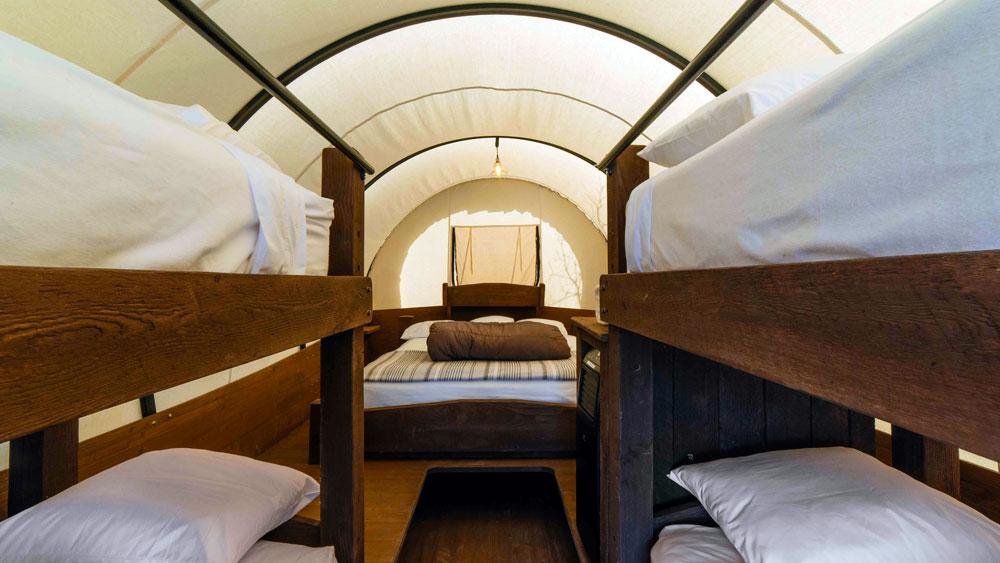 Conestoga Wagon Camping Near Zion National Park Ponderosa
