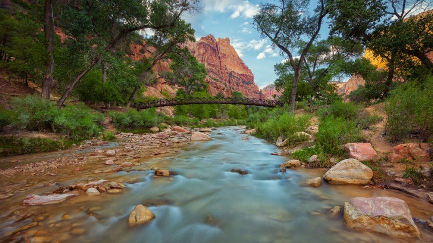 Virgin River Leave No Trace Zion National Park