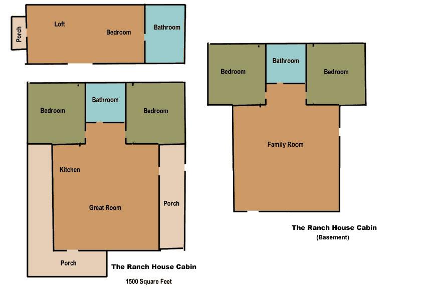 Ponderosa Ranch House Plans Numberedtype