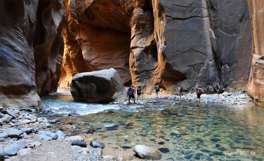 The Narrows slot canyon hike