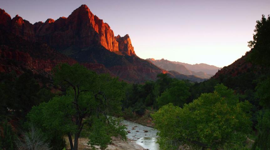 Sunset Slam Zion Adventures | Zion Ponderosa