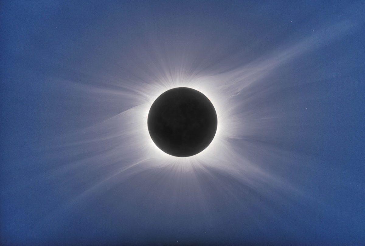 Solar eclipse Credit: Dennis di Cicco / Sky & Telescope
