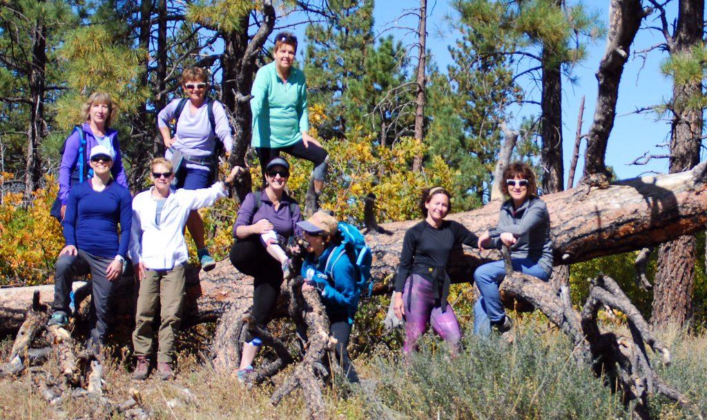 Fall 2017 Women's Retreat Observation Point Hike