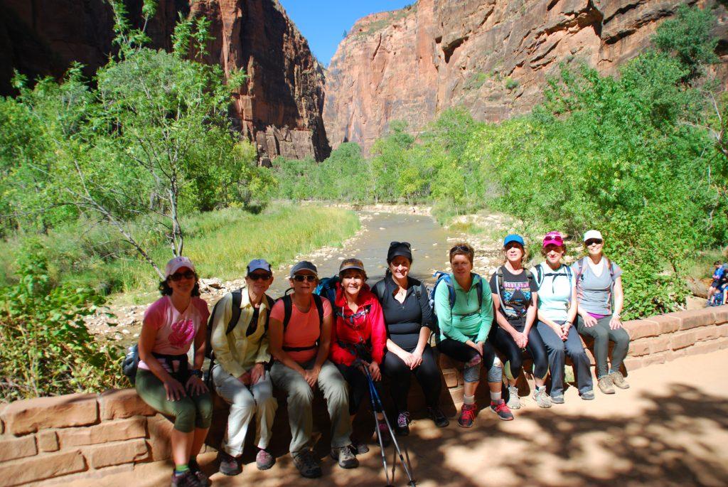 Zion National Park Fall 2017 Women's Retreat