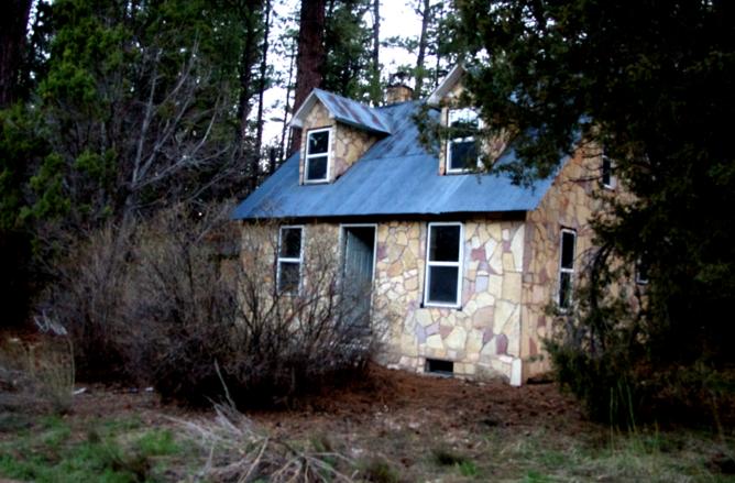 haunted jolley cabin zion ponderosa