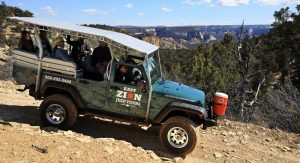 Zion Ponderosa East Zion Jeep Tours