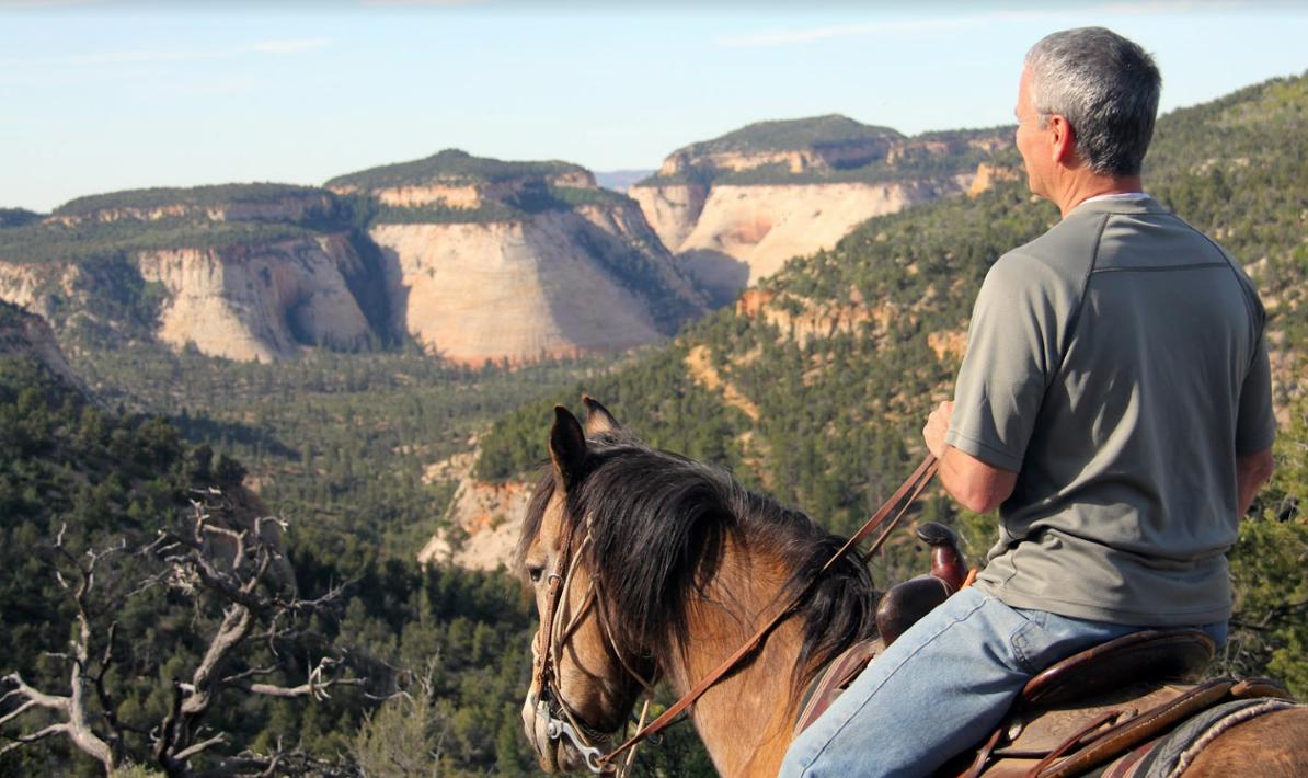 Horseback riding Zion National Park
