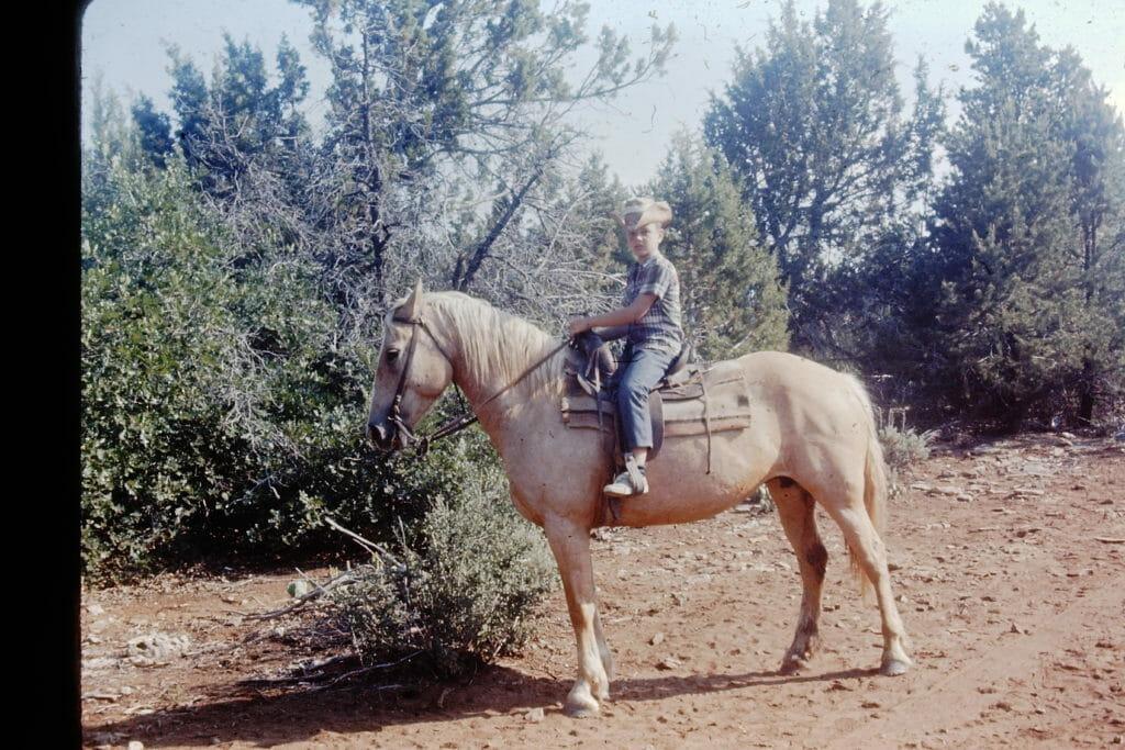 Zion Ponderosa Ranch Resort Horseback Ride History