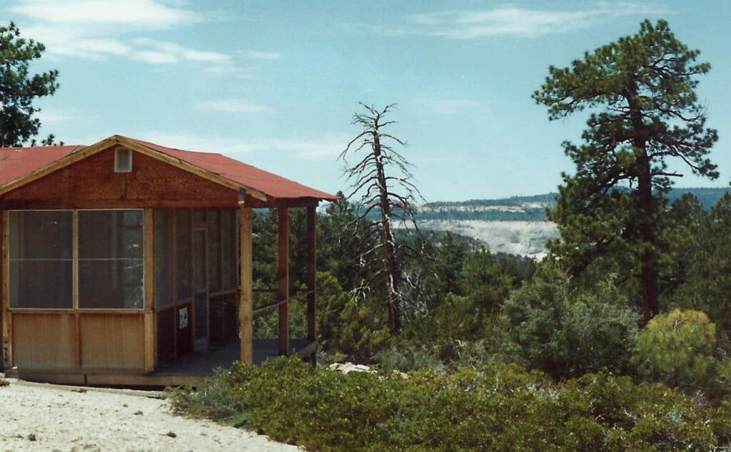 Zion Ponderosa Original Cabin