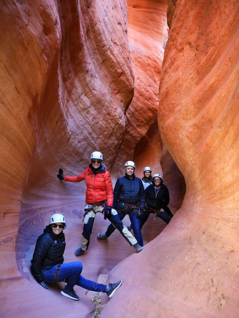 womens adventure retreat zion ponderosa