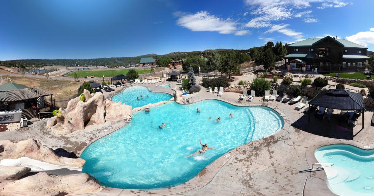 Zion Ponderosa Swimming Pool