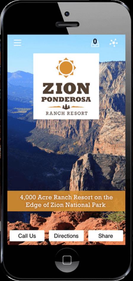 Zion Ponderosa Mobile App